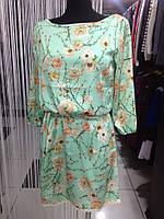 Стильное женское платье из шелка