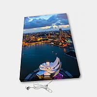 Обогреватель настенный электрический инфракрасный картина АртТепло Ночной город 2 (Hot00017), фото 1