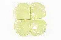 Лепестки роз молочные №7