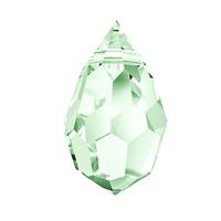 Кришталеві підвіски 681 Preciosa (Чехія) 6х10 мм Crystal Green Light