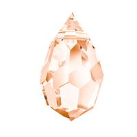 Хрустальные подвески 681 Preciosa (Чехия) 6х10 мм Crystal Light Orange