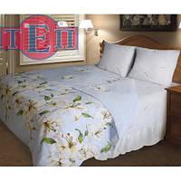 """Дешевый и натуральный комплект постельного белья """"Лилит"""" Premium бязь."""