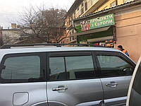 Mitsubishi Pajero Wagon IV Рейлинги оригинальный дизайн (2 шт)