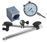 Micrometer with magnetic base, Bahco, 1154