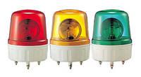 AVGB02Y Проблесковый маячок (желтый+сирена, 135 мм, 24VDC)