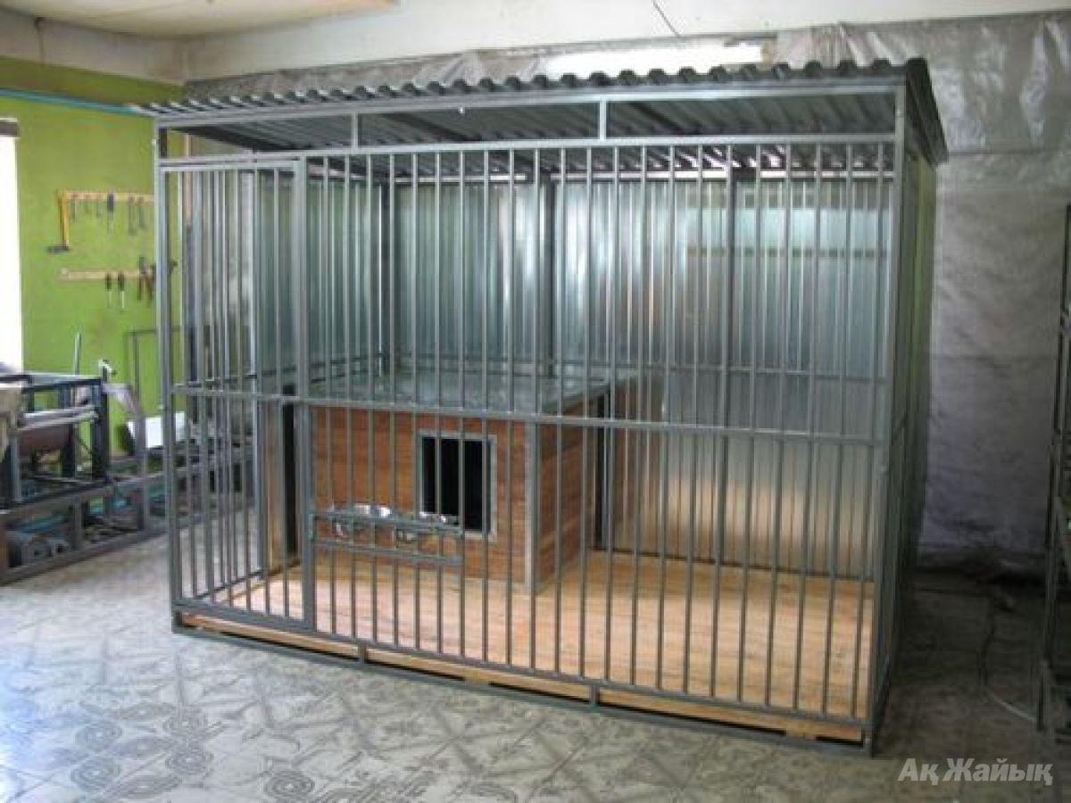 Изготовление вольеров для собак