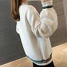 Красива стильна жіноча в'язана кофта кардиган 42-46, фото 2