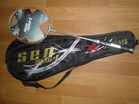 Ракетка бадминтон (в чехле). SEN SPORT 1050 «Senior» (одна ракетка)