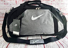 Спортивная, дорожная сумка Nike с отделом для обуви КСС73-1