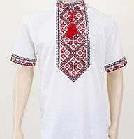 Чоловіча сорочка вишиванка з коротким рукавом , розмір 44-56