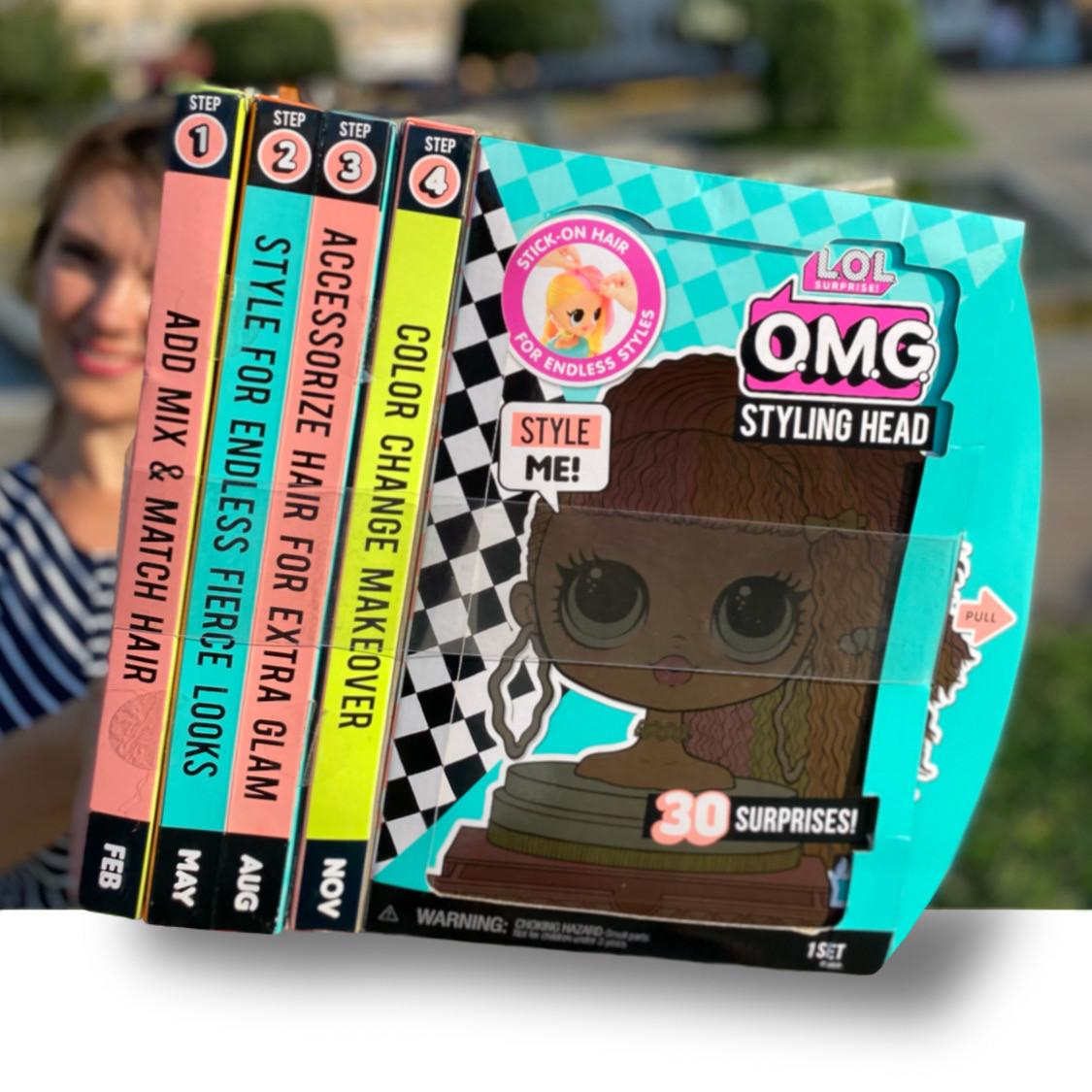 Ігровий набір L. O. L. Surprise! Лялька-Манекен Оригінал ЛОЛ - Леді Неон з аксесуарами (565963)