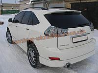 Юбка задняя на Lexus RX-350 Sport