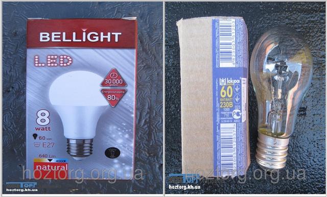 Чем светодиодная LED лампа лучше лампы накаливания?