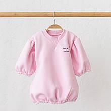 """Платье на флиcе """"Aleksa"""", розовое"""