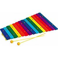 Детский музыкальный инструмент Ксилофон Д047у Руди, 15 тонов
