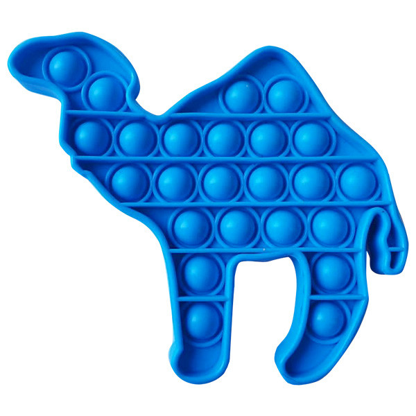 Pop It Антистресс Игрушка - (Поп Ит - Попит - Popit) - Синий Верблюд