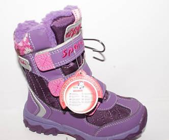 Зимние  ботинки для девочки, размеры 28 29
