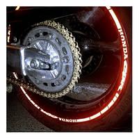 Наклейки на обод колеса Honda CBR 17'', фото 1