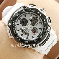 Бюджетные часы G-Shock Twin Sensor White/Black