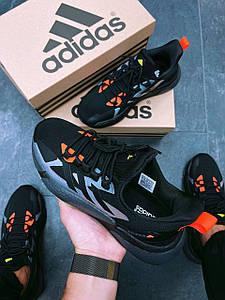 Кросівки чоловічі Adidas X9000L4 Black Violet