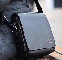 Мужская сумка, барсетка, Кенгуру Черный. , фото 1