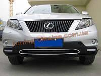 Накладка на бампер передняя Lexus RX 2009-12