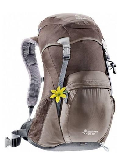 Замечательный рюкзак 20 л. для недолгих походов, треккинга DEUTER ZUGSPITZE 20 SL,34500 4601 коричневый