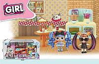 Набор мебели с куклой Кухня LK 1041 B YANIUK