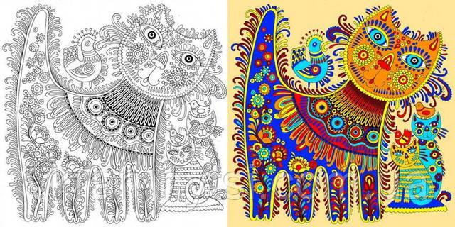Я люблю Україну. Розмальовка для душі. Крамниця дитячих книжок ― vkramnytsi.com.ua