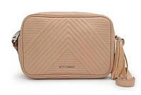 Удобная сумочка - клатч в стиле Mango Touch. Бежевая
