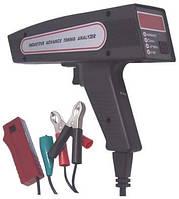 Цифровой стробоскоп с анализатором оборотов, угла замкнутого состояния, напряжения (пластиковый корпус) (Trisc