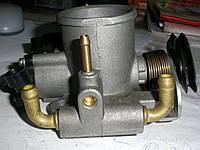 Патрубок дроссельный 2112-1148010-32 для установки на алюминиевый ресивер. Корпус дроссельной заслонки