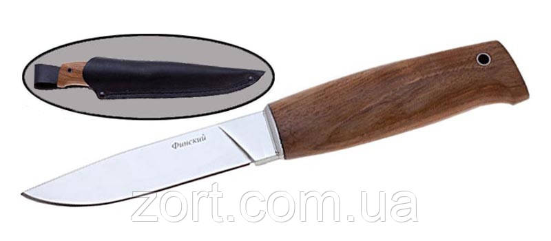 Нож с фиксированным клинком Финский, фото 2