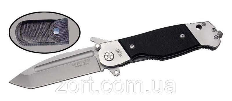 Нож складной, механический Мангуст-М, фото 2