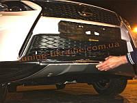 Накладка на бампер передняя Lexus RX 2012+
