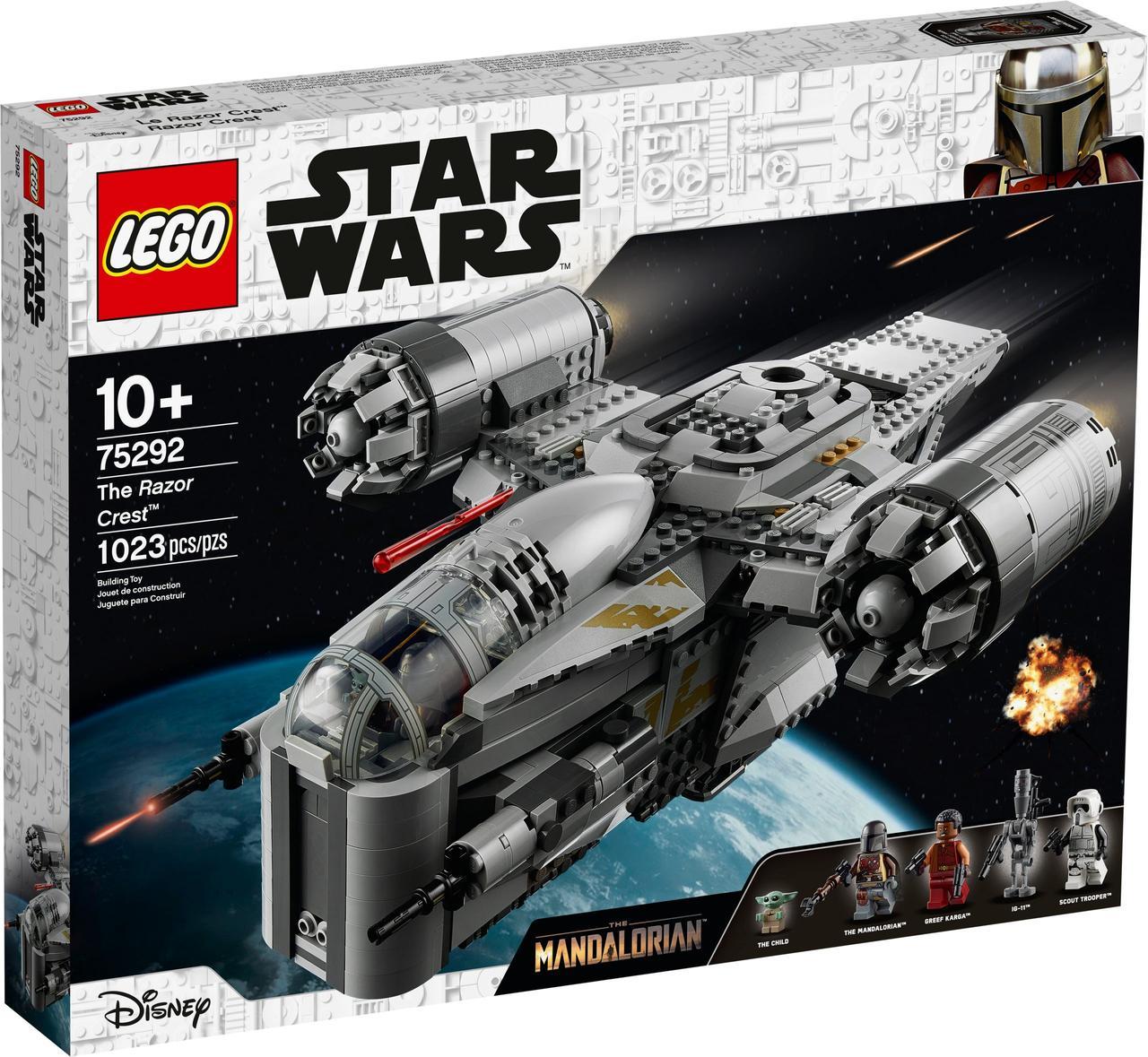 Детский Конструктор Lego Star Wars Лезвие бритвы 75292