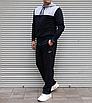 Мужской спортивный костюм Nike Air большого размера | БАТАЛ | трикотаж двухнить | прямые штаны, фото 2