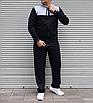Мужской спортивный костюм Nike Air большого размера | БАТАЛ | трикотаж двухнить | прямые штаны, фото 3