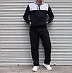 Мужской спортивный костюм Nike Air большого размера | БАТАЛ | трикотаж двухнить | прямые штаны, фото 4