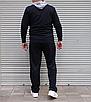 Мужской спортивный костюм Nike Air большого размера | БАТАЛ | трикотаж двухнить | прямые штаны, фото 5