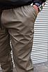 Мужские штаны джоггеры цвета хаки , хлопок, фото 5