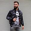 Чоловіча куртка утеплена бомбер камуфляж, фото 2