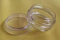Органайзер-кругляшок диаметр 3 см, высота 1,5 см, 1 шт - длябисера, бус, мелкой фурнитуры
