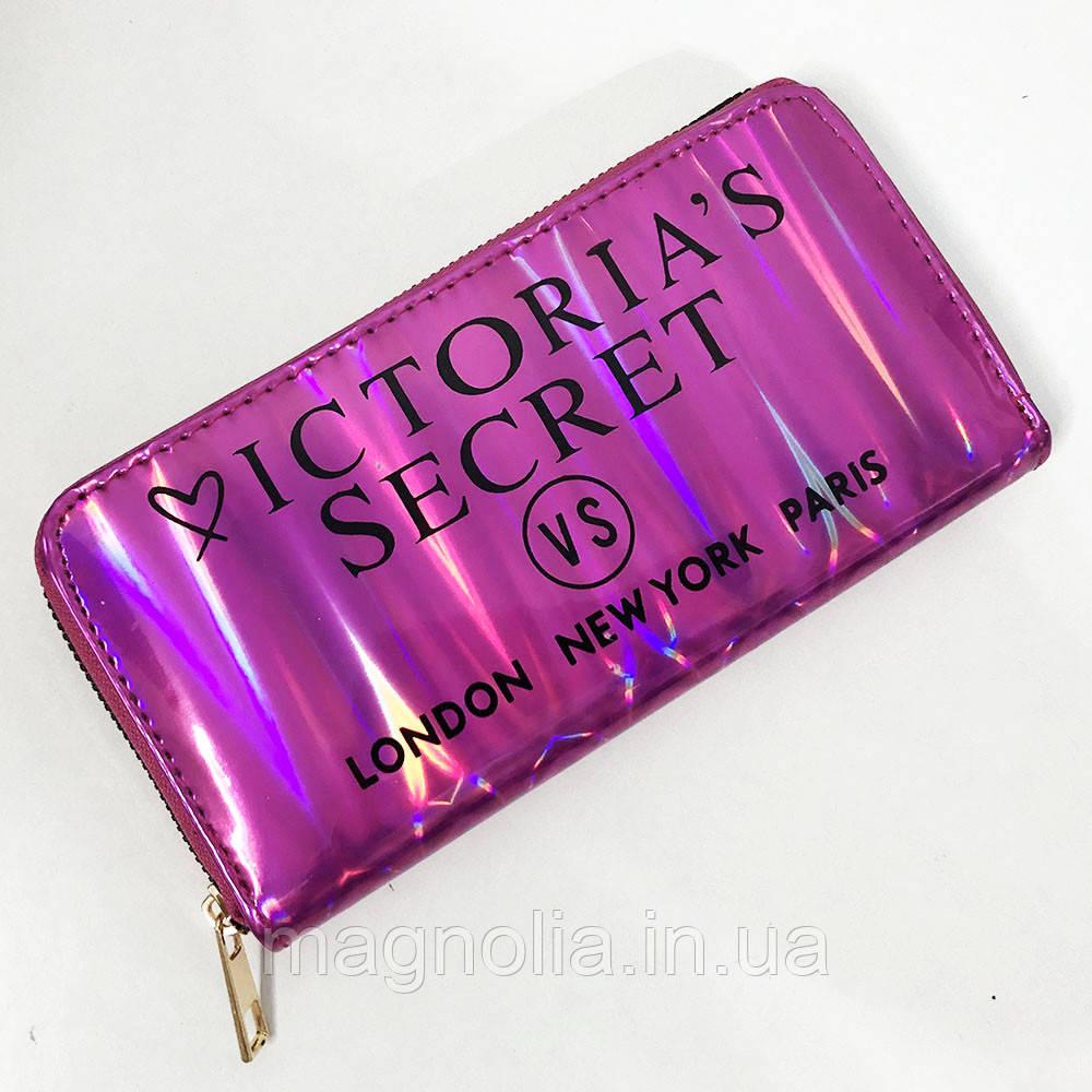 Кошелек женский Victoria's Secret. Цвет: темно-розовый