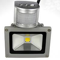 Светодиодный прожектор TGD12 с датчиком движения, 20 Вт, 220V, холодно-белый