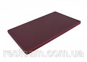 "Дошка двостороння LDPE, 500x300x20 мм, коричнева ""One Chef"" Normak"
