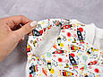 Безрозмірна пелюшка на блискавці з шапочкою Каспер, Космос, фото 2