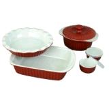 Набор керамической посуды для запекания 8 предметов Kamille 6106