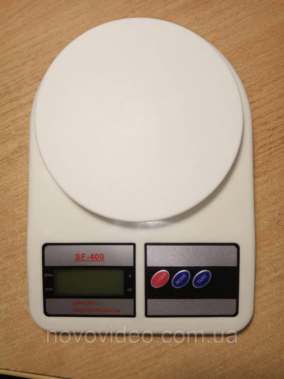 Ваги цифрові для кухні, побутові SF-400 до 10 кг