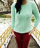 Пушистый теплый свитер, фото 3